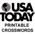 Usa Today Printable Crosswords