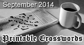 printable-crossword-september-2014