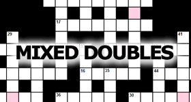 Mixed Doubles Crossword Puzzles